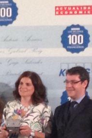 100 mejores financieros 2015 con Álvaro Nadal Secretario de Estado_opt