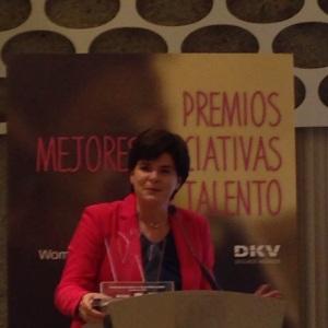 Premio Women at RRHH Womenalia - Palabras de agradecimiento