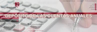 Cuentas Anuales - Registro