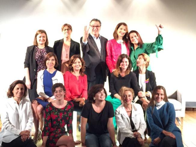 MALLORCA . Octubre 2017 - Tiempo de mujeres - Mujer y Visibilidad - Foto grupo ponentes (2)