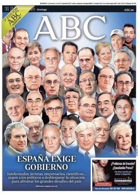 España exige gobierno