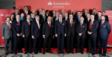 Santander sponsored meeting of the Universia International Advisory Board at the Berkeley Hotel, Knightsbridge, London, today, 17th December, 2008.