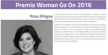 Premio Woman Go On 2016