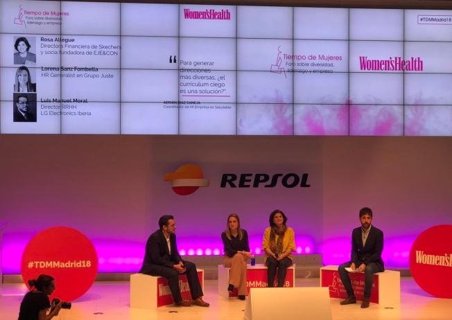 MADRID. Octubre 2018 - Tiempo de mujeres - Mesa redonda (3)
