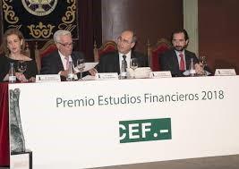 Jurado Tribunal premios CEF 2018